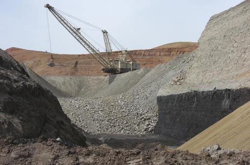 coal mine crane