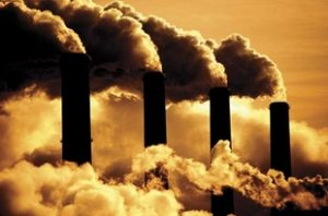 Coal Burning Power Plants Smoke