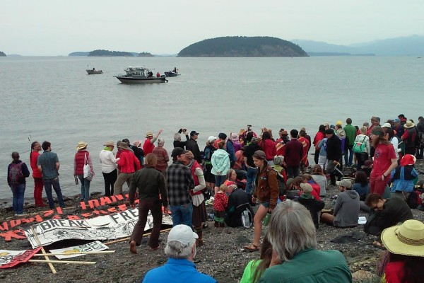 Swinomish water ceremony