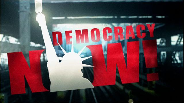 democracy now poster