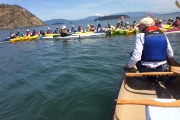kayak practice