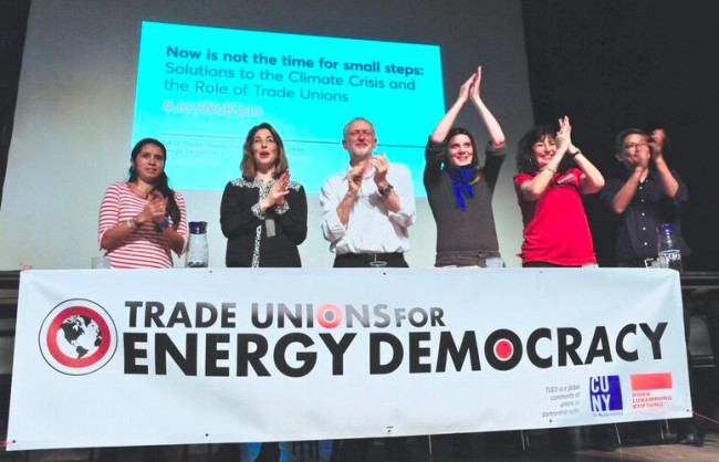 trade unions energy democracy