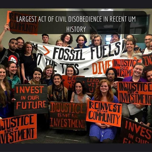UM Student Divestment Action