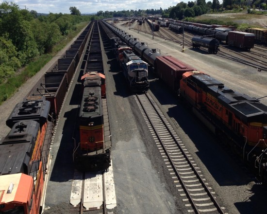 Coal and Oil Trains
