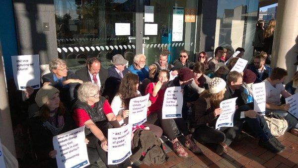 Bank Shudown Christchurch