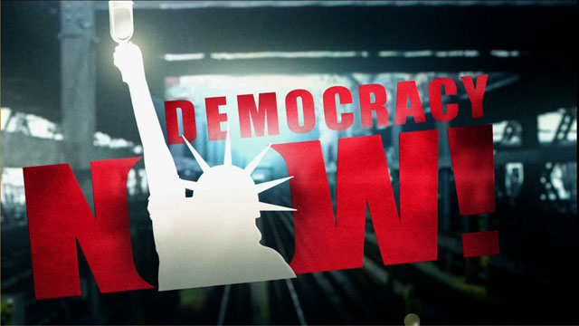 democracy now poster