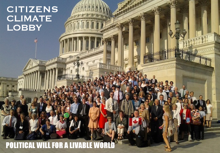 citizens climate lobby poster