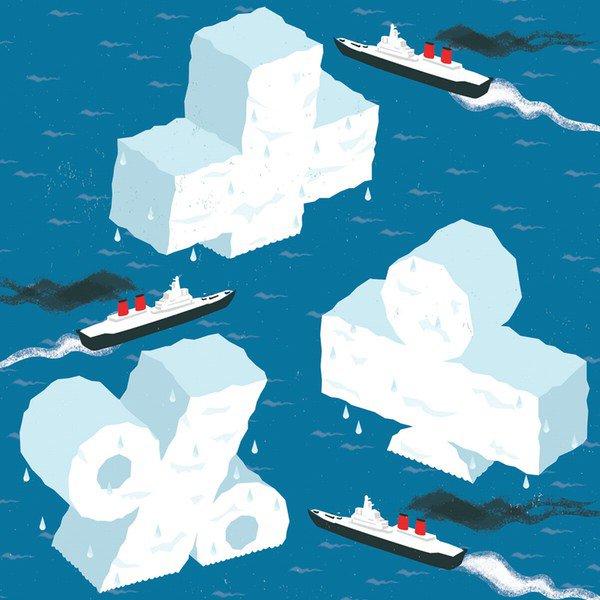 ice flows graphic
