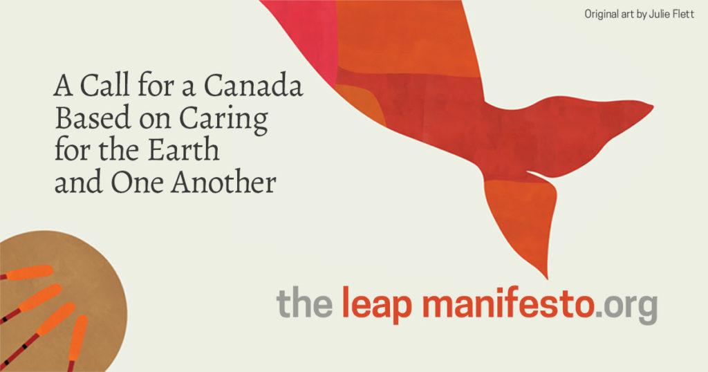 leap mainifesto poster