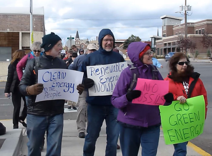 butte climate march
